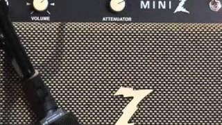 Dr Z MINI Z guitar amplifier demo with Fender Stratocaster