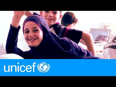 Lebanon: A tiny computer lets Syrian refugees learn | UNICEF