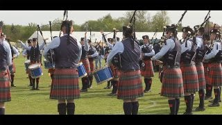 Field Marshal Montgomery Pipe Band retains British Championship