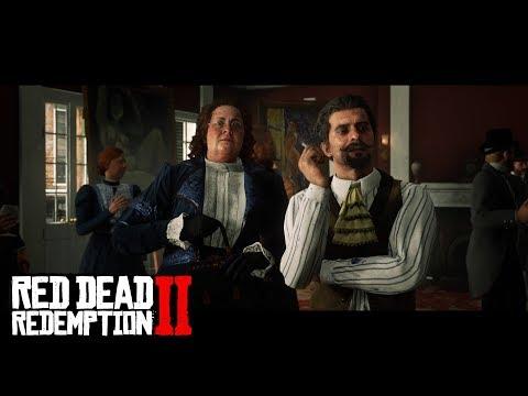 Funny Artist Storyline in Red Dead Redemption 2 (in 4K)