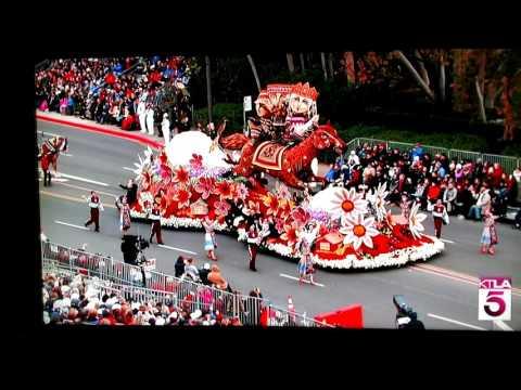 Rose parade 2017 Armenian float