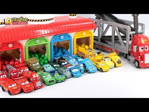 Thumbnail: Learning Color Special Disney Pixar Cars Lightning McQueen Mack Truck Color ball for kids car toys