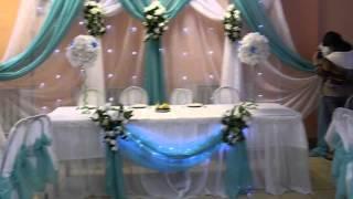 Оформление свадебного зала Ляховичи бар Алеся