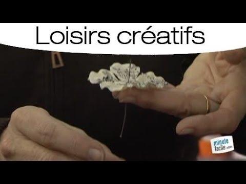mode d'emploi pour faire une fleur artificielle - youtube