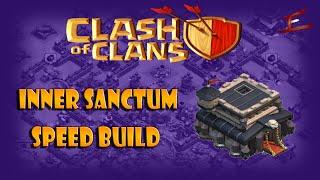 Clash Of Clans Town Hall 9 [Inner Sanctum] Speed Build   TH9 Base Design   CoC Base TH9 Design