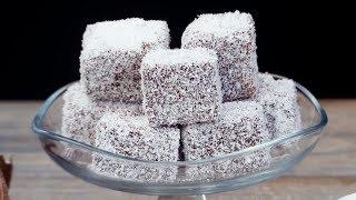 Вкуснятина к чаю! Бисквитное пирожное с шоколадом и кокосом - на радость всей семьи! | Appetitno.TV