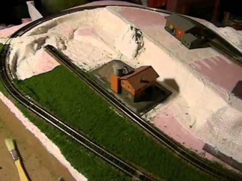 Train Table Part 4 N Scale Layout