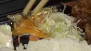 から揚げ弁当398円 おべんとうのヒライ