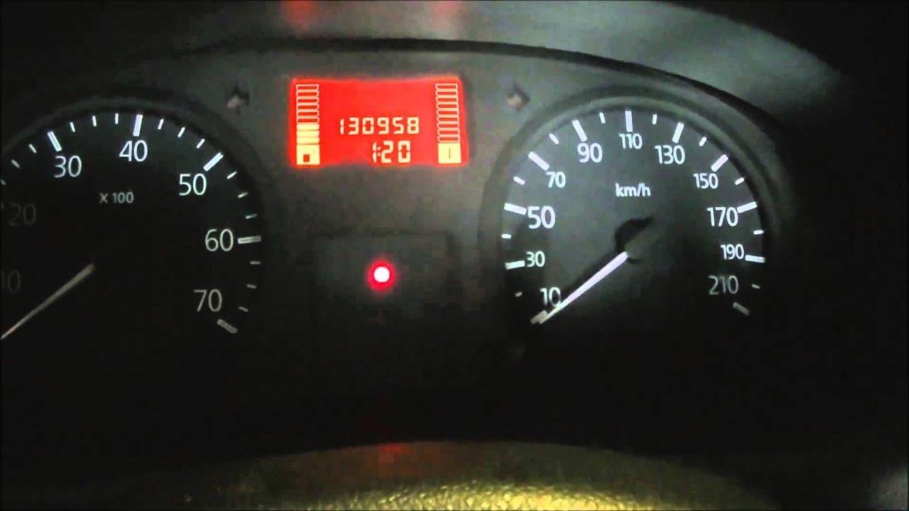 VídeoTutorial HD | Puesta a 0 servicio Renault Kangoo 2009 ...