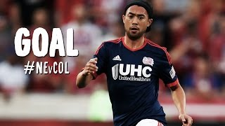 GOAL: Lee Nguyen curls home a magical free kick | New England Revolution vs. Colorado Rapids