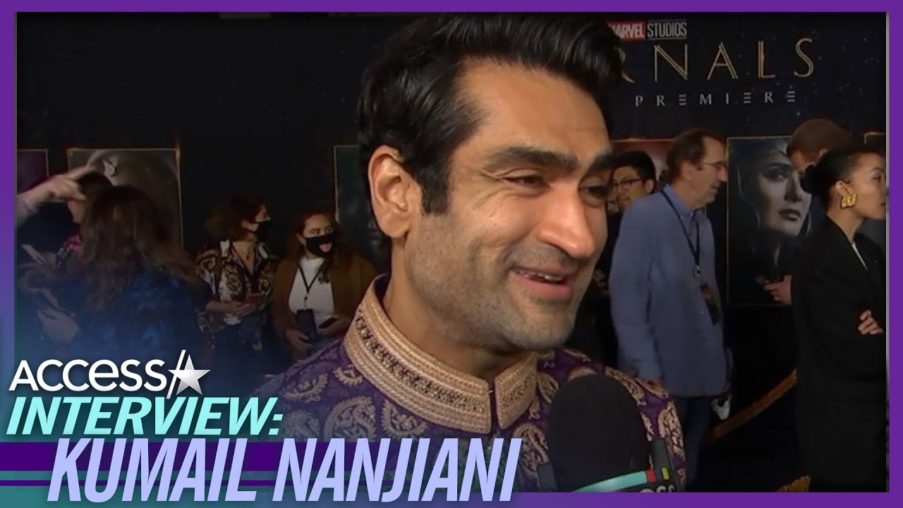 Kumail Nanjiani Tears Up Over His Dad Being Proud Of Him for 'Eternals': 'It's Everything'