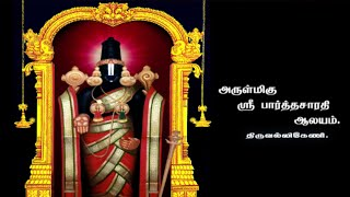 Temples of South India | Sri Parthasarathy - Triplicane Chennai
