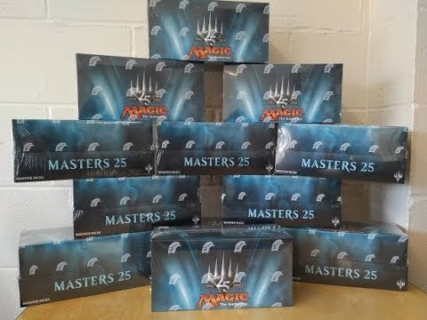Masters 25 Double Box Opening - Checking for Duplicates
