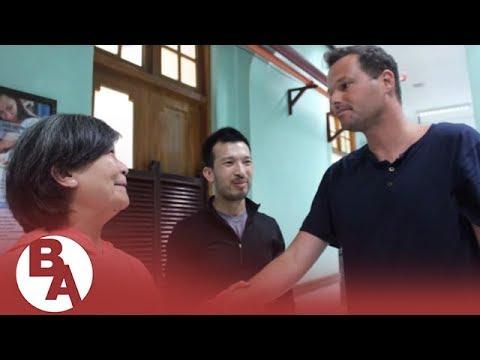 SF Supervisor Matt Haney checks in on activist Brandon Lee following attack in the Philippines