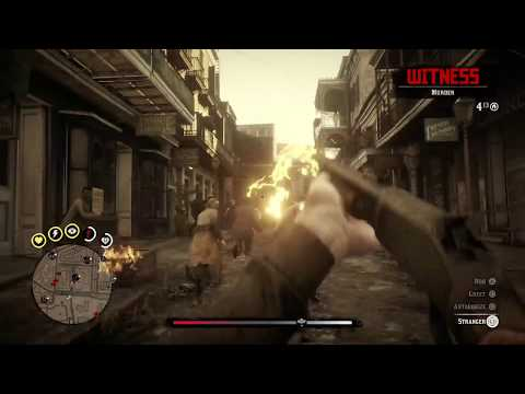 going berserk - Red Dead Redemption 2 - part 1