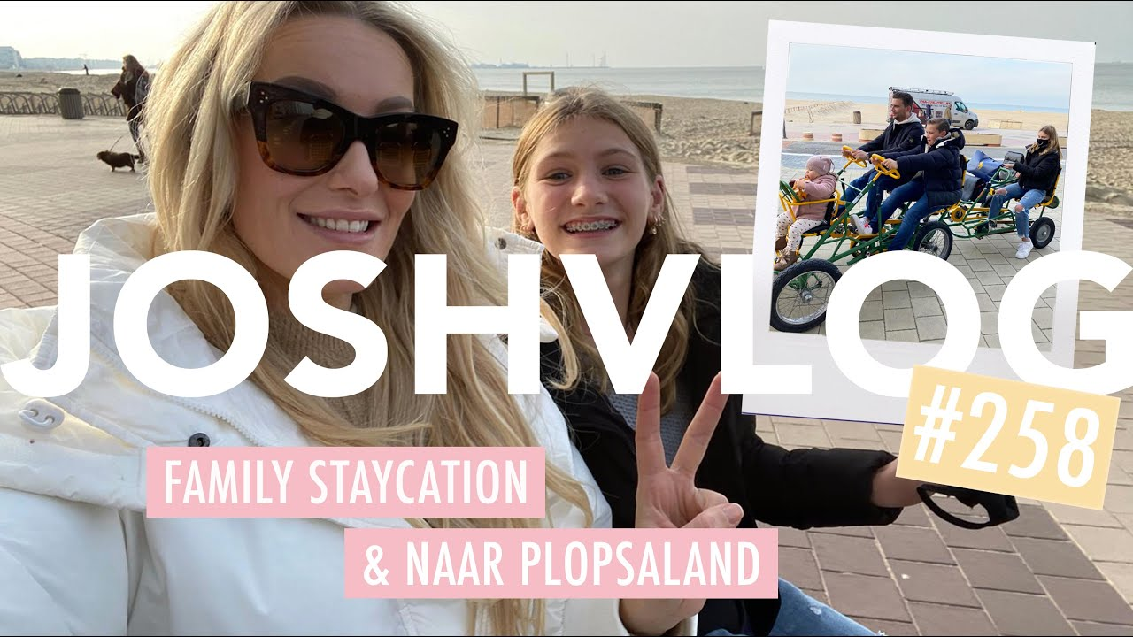 STAYCATION W/THE KIDS & EXTRA VEEL ALEXIS  💕 | JOSHVLOG #258