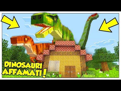 I DINOSAURI GIGANTI ATTACCANO LA NOSTRA CASA! - Minecraft ITA