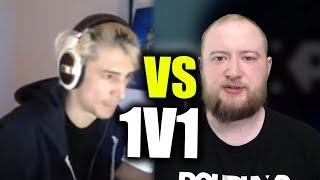 xQc VS COACH JAYNE 1v1 (If Jayne wins he gets $100)