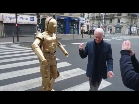 When C3PO meets Anthony Daniels C3PO