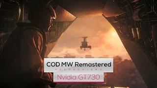Call of Duty: MW Remastered on Intel Core 2 Quad Q8400 & Nvidia GT730