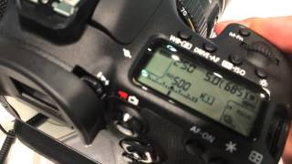 Canon EOS 7D mark II : Shutter Sound