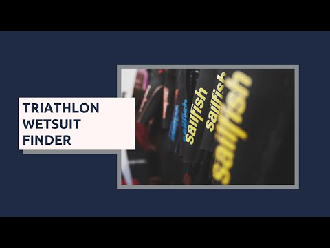 Sailfish Triathlon Wetsuit Finder