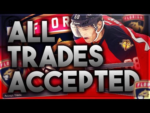 ACCEPTING ALL TRADES with the 2015-2016 FLORIDA PANTHERS
