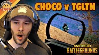 chocoTaco vs. TGLTN ft. ObiWannCoyote - PUBG Duos Gameplay
