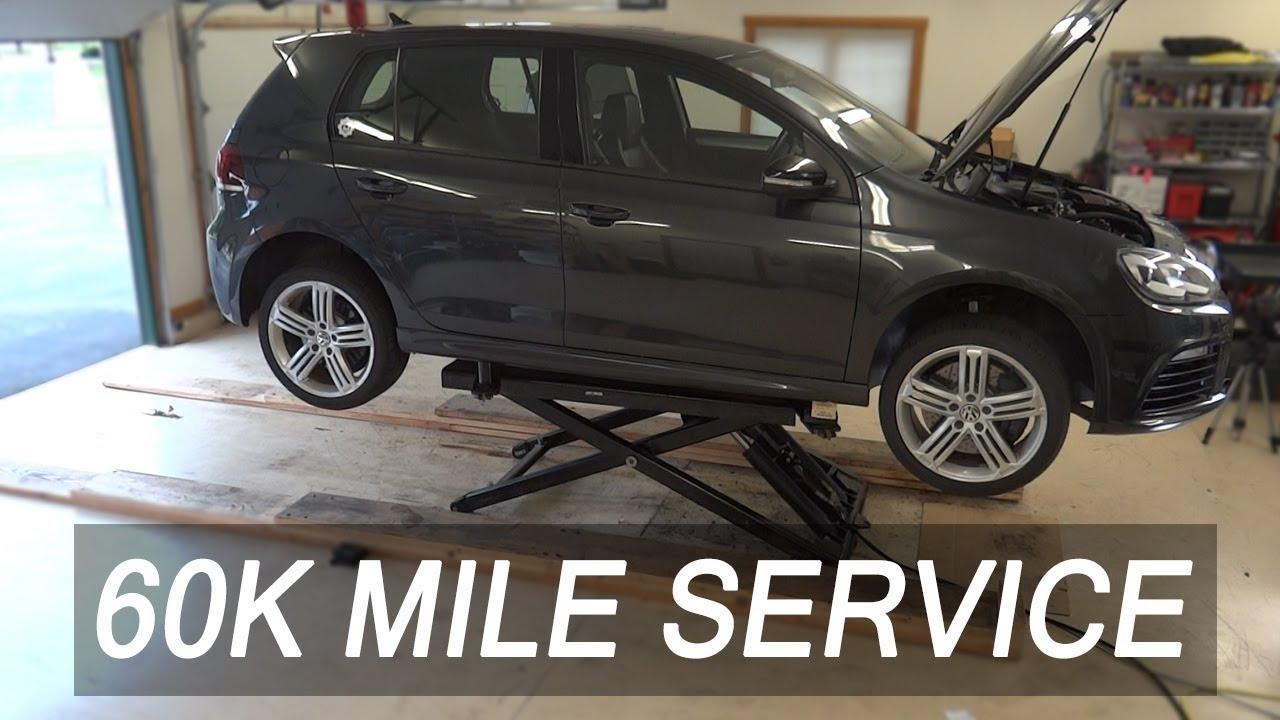 Audi 60k service