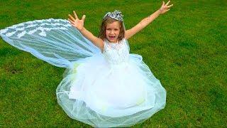Katy dress up for wedding