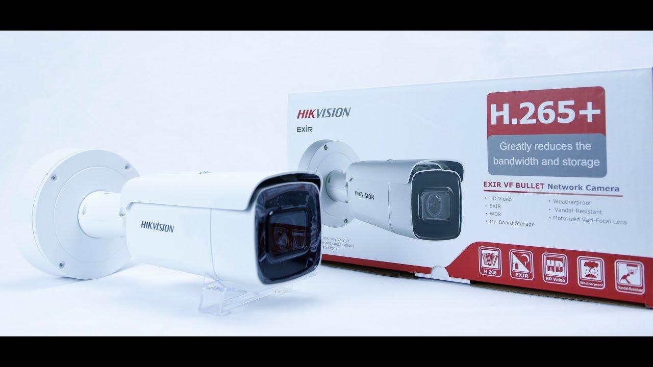 Hikvision DS-2CD2685FWD-IZS H 265 8MP 2 8-12MM Motorised Lens 50M IR