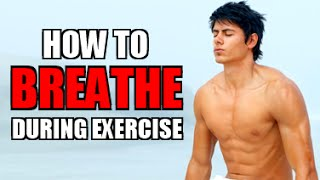 THE BEST BREATHING TECHNIQUE FOR WEIGHT LIFTING | HOW TO BREATHE BETTER WHILE WORKING OUT + EXERCISE