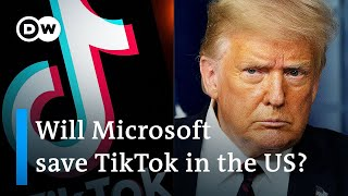 Why does Trump want to ban China's TikTok app in the US? | DW News