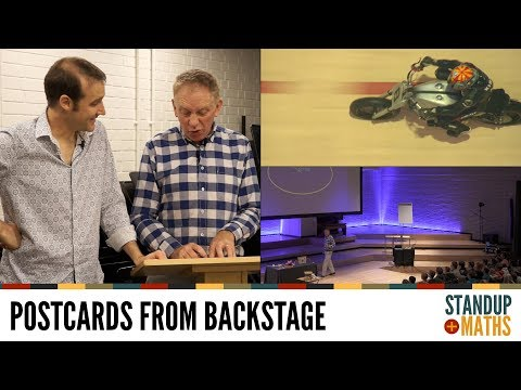 Postcards from backstage: Hugh and the Wall of Death Units