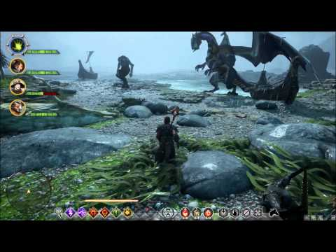 Dragon Age Inquisition - Dragon Vs. Giant