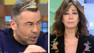La cancelación de Sálvame y Jorge Javier Vázquez de los domingos y su gran enfado con Ana Rosa
