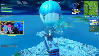 ninja almost missed the event but he saw it and went on to get the ...