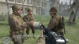 """Call of Duty 2"", walkthrough on Veteran, Final Chapter 10 - Crossing the Rhine: The Crossing Point"