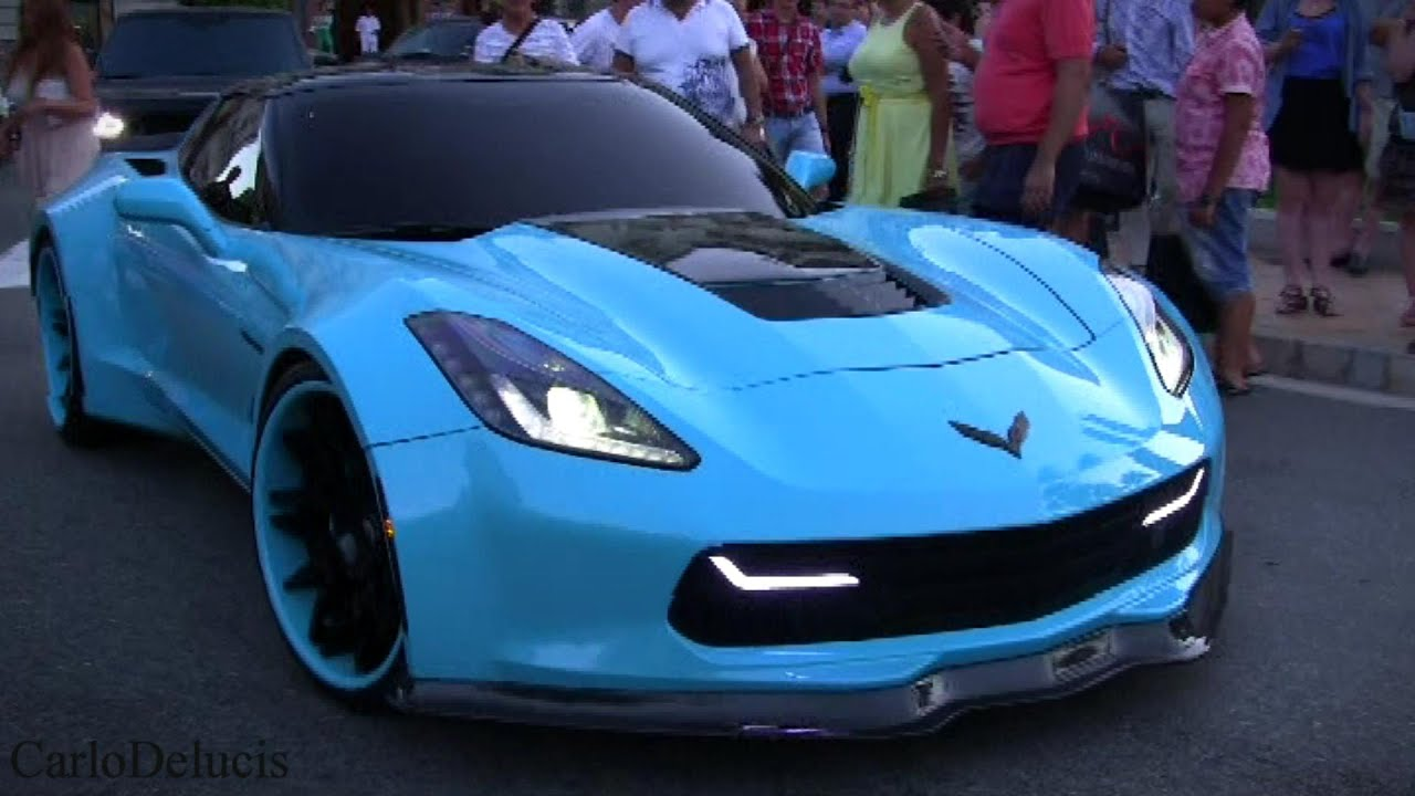 Widebody Corvette Stingray Forgiato On The Road - YouTube