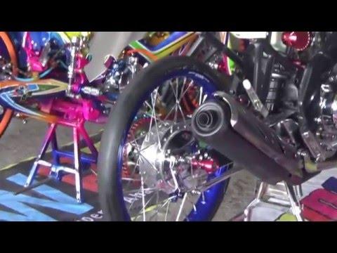 Modifikasi Yamaha Vixion Old  Street Racing