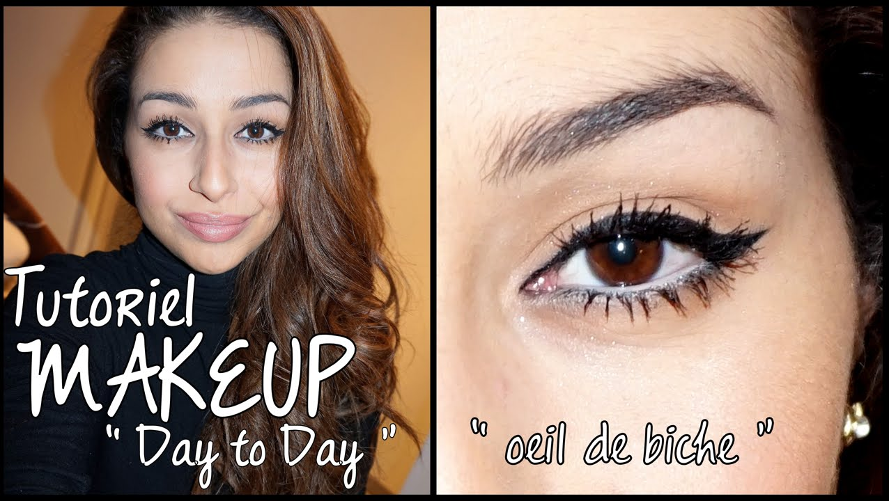 Tutoriel Eye Liner Facile Look3 Tuto Maquillage Day To Day Sophistiqu Regard Oeil De Biche