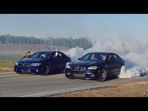 Behind the scenes: Watch how BMW attempted TWO GUINNESS WORLD RECORDS™ titles in the ALL-NEW BMW M5