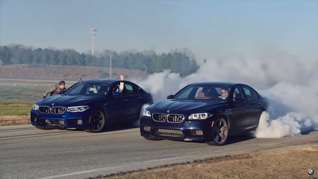 BMW M5 smashes world record with 232 5-mile drift
