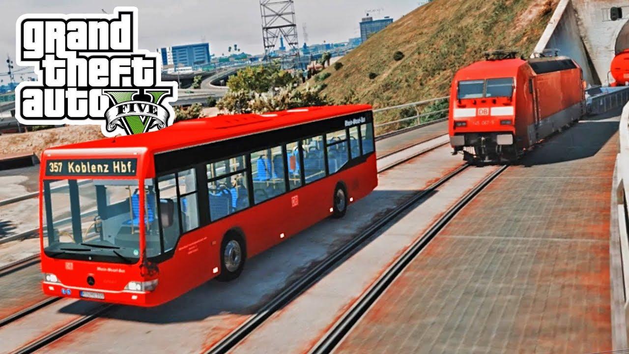 Deutsche Bahn lässt grüßen! - GTA 5 Mods Deutsch