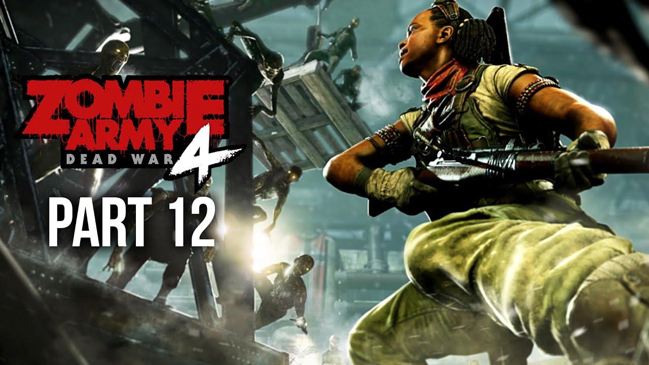 ZOMBIE ARMY 4 DEAD WAR Gameplay soluce, partie 12 - MOLTEN NIGHTMARE (Tous les objets de collection) + vidéo