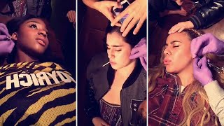 Fifth Harmony Getting Ear Piercings | Full Video