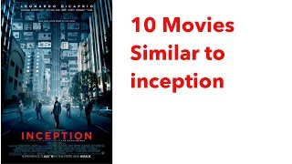 10 movies similar to Inception with IMDB rating and Rotten Tomatoes score || Trailers included