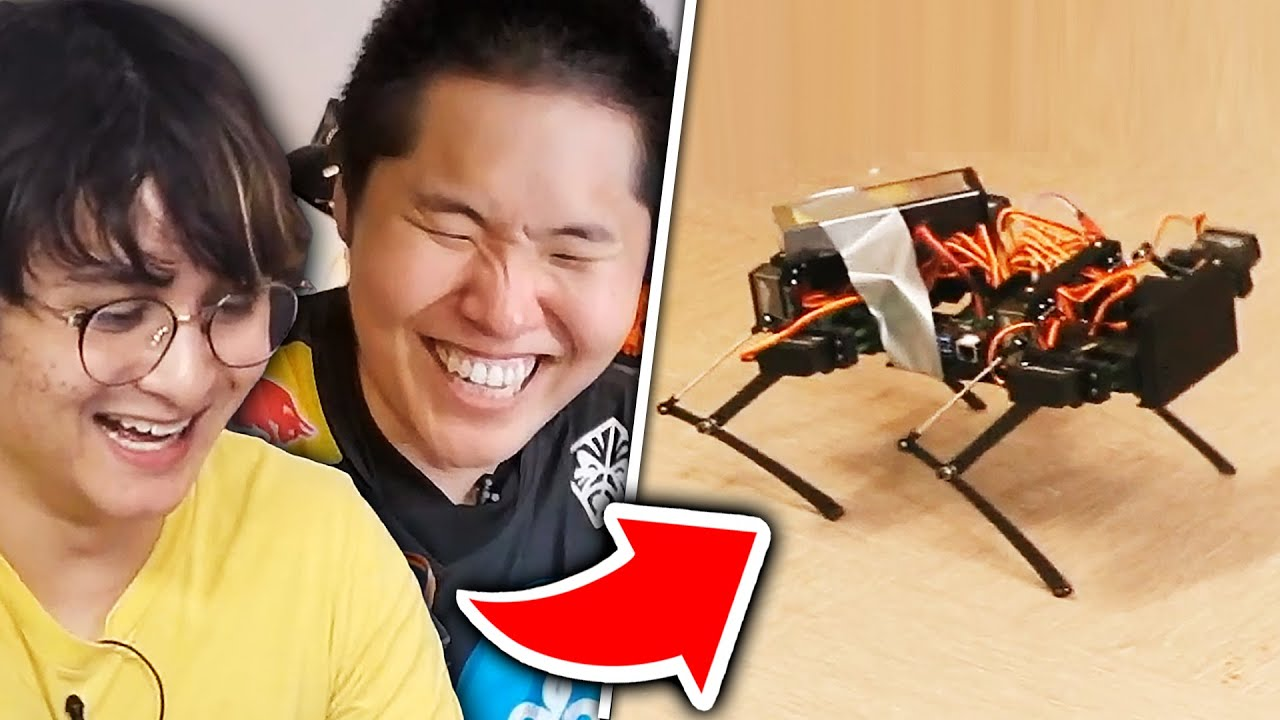 we made a robot dog (ft. michael reeves)