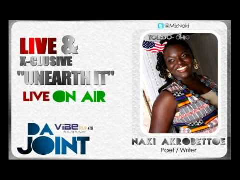 Naki Akrobettoe on Da Joint Show