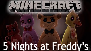 Five Nights At Freddy s в Minecraft 5 Ночей с Фредди